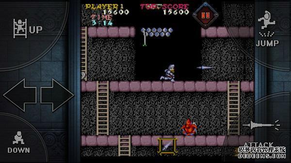 童年噩梦的游戏 卡普空宣布推出《魔界村Moblie》