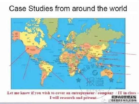 悉尼大学讲师使用的错误地图(《澳大利亚人报》图片)